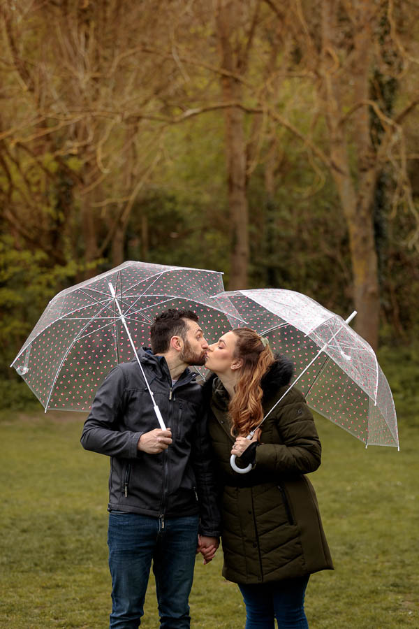 Esme-Steven-Pre-Wedding-Engagement-Photography-Kent-www.MykeyDay-Photography.com-8 Rainy Engagement Photos | London Wedding Photography | Esme & Steven